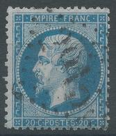 Lot N°55572  N°22, Oblit GC 2915 Poitiers, Vienne (80) - 1862 Napoleon III
