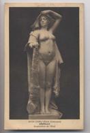 Autographe Au Dos De Carli Pour Demande De Loge à L'Opéra - Marseille - Sculpture Femme Nue - Auguste Carli - Omphale - Sculptures
