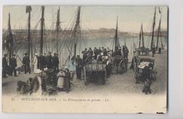 Boulogne Sur Mer (62 - Pas De Calais) - 1903 - Débarquement Du Poisson - Pêcheurs - Colorisée - Animée - Fishing