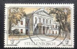 RSA  - (o) Used - Ref 11 - 1979 - 300 Jaar Stad Stellenbosch - África Del Sur (1961-...)