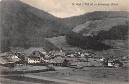 ST VIGIL ENNEBERG  SOUTH TYROL ITALY~PANORAMA~1909 PHOTO  POSTCARD 46407 - Italien