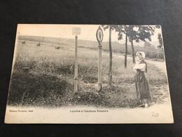 CPA 1900 Lorraine A L'ancienne Frontière Arracourt - Aduana