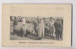 MEKNÈS - Le Marché Aux Moutons (mercredi) - Maroc - Animée - Meknes