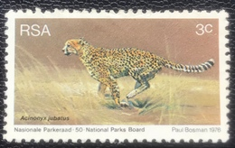 RSA  - (o) Used - Ref 11 - 1976 - Beschermde Wilde Dieren - África Del Sur (1961-...)
