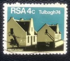 RSA  - (o) Used - Ref 11 - 1974 - Tulbagh - África Del Sur (1961-...)