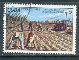 Y85 CUBA 1984 2857 25th Anniversary Of The Land Reform Of Cuba. Agriculture - Agricultura