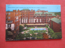 Hotel De Soto Hotel Pool & Miniature Golf Course  Georgia > Savannah  Ref 4095 - Savannah