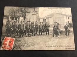 CPA 1900 Arracourt Mobilisation 3/4 D'heure Après L'ordre De Mobilisation Douaniers 1 Déchirure - France