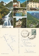 Saluti Da Roncobello Bergamo 6 Vedute Colori 20lug1966 - Italia