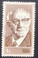RSA  - (o) Used - Ref 12 - 1975 - Nicolaas Diederichs - África Del Sur (1961-...)