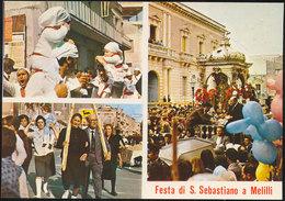 MELILLI (SR) FESTA DI S. SEBASTIANO - Siracusa