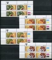 Venda Mi# 82-5 Zylinderblöcke Postfrisch/MNH Controls -  Flora Fruits - Venda