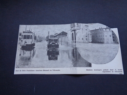 """Origineel Knipsel ( 4196 ) Uit Tijdschrift """" Ons Volk """" 1932 :   Vilvoorde   Vilvorde   Tram - Vieux Papiers"""