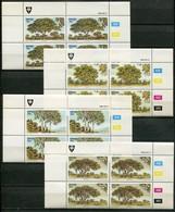 Venda Mi# 95-8 Zylinderblöcke Postfrisch/MNH Controls - Flora Trees - Venda