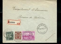 Doc. De BEAURAING Du 31/07/50 Avec N° 770 - 768  En Rec. - 1948 Export