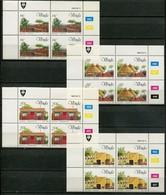 Venda Mi# 99-102 Zylinderblöcke Postfrisch/MNH Controls - Buildings - Venda