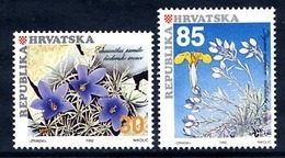 CROATIA 1992 Native Plants  MNH / **.  Michel 205-06 - Croazia