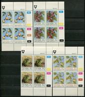 Venda Mi# 112-5 Zylinderblöcke Postfrisch/MNH Controls - Flora Fruits - Venda