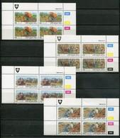 Venda Mi# 142-5 Zylinderblöcke Postfrisch/MNH Controls - Flora Forestry - Venda