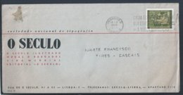 Flâmula Da 'Caixa Económica Postal 900 Estações De Correio à Vossa Disposição'. Jornal 'O Século'. Gil Vicente. Teatro. - 1910-... République