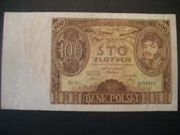 Polen- 100 Zloty 1934 Ser. AL - Poland