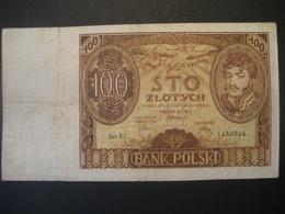 Polen- 100 Zloty 1934 Ser. BC - Pologne