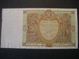 Polen- 50 Zloty 1929 Ser. EB - Pologne