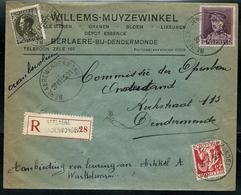 Doc. De BERLAERE ( DENDERMONDE) Le 27/11/35 En Rec. - Bélgica