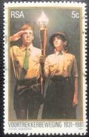 RSA  - (o) Used - Ref 12 - 1981 - Voortrekkersbeweging - Afrique Du Sud (1961-...)