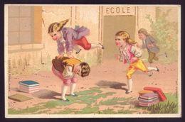 Cartão Publicidade LOJA MODAS Reis & Cª Rua Aurea 269 LISBOA. Old Victorian Trade Card CHROMO TOUPIE Portugal 1880s - Cromo