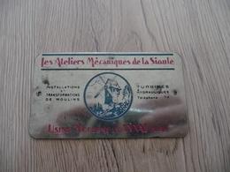 Plaque Fer Les Ateliers Mécaniques De La Sioule Usine Moderne Gannat Allier - Publicidad