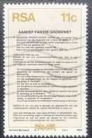 RSA  - (o) Used - Ref 12 - 1984 - Nieuwe Grondwet - Afrique Du Sud (1961-...)