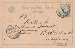 Bosnien Und Herzegowina / 1901 / Postkarte Nach Deutschland (BJ47) - Bosnien-Herzegowina
