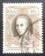 RSA  - (o) Used - Ref 12 - 1984 - Schrijvers - Afrique Du Sud (1961-...)
