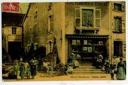 MELAY Maison JANNY, Couleur, Rarissime - France