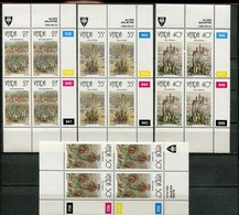 Venda Mi# 209-12 Zylinderblöcke Postfrisch/MNH Controls -  Flora Aloes - Venda