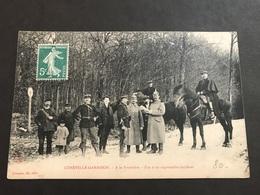 CPA 1900 Lunèville Garnison à La Frontière Fin D'un Regrettable Incident - Luneville