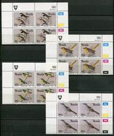 Venda Mi# 217-20 Zylinderblöcke Postfrisch/MNH Controls -  Fauna Birds - Venda