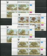 Venda Mi# 229-32 Zylinderblöcke Postfrisch/MNH Controls -  Flora Trees - Venda