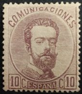 España: Año. 1872 - Super Lujo, 1/Val. ( Rey Amadeo I ) Dent. 14 - De Peine - 1872-73 Regno: Amedeo I