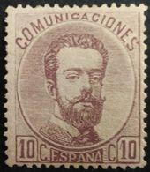 España: Año. 1872 - Super Lujo, 1/Val. ( Rey Amadeo I ) Dent. 14 - De Peine - 1872-73 Königreich: Amédée I.