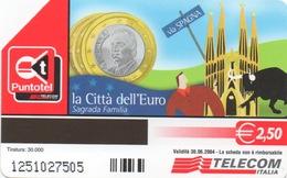 Série Italienne La Città Dell'Euro : Spagna = Espagne - Timbres & Monnaies
