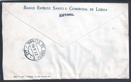 Stamp Europa Cept 1964. Flor. Carta Circulada Do Estoril Para S. Pedro Do Estoril. Bescl. Flower. - 1910-... République