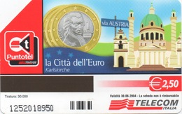 Série Italienne La Città Dell'Euro : Austria = Autriche - Timbres & Monnaies