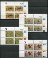 Venda Mi# 237-40 Zylinderblöcke Postfrisch/MNH Controls - Fauna Bees - Venda