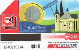 Série Italienne La Città Dell'Euro : Lussemburgo = Luxembourg - Postzegels & Munten