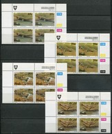 Venda Mi# 246-9 Zylinderblöcke Postfrisch/MNH Controls - Fauna Crocodiles - Venda