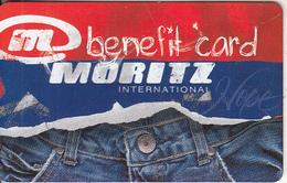 GREECE - Moritz, Benefit Member Card, Used - Non Classificati