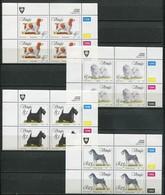 Venda Mi# 266-9 Zylinderblöcke Postfrisch/MNH Controls - Fauna Dogs - Venda