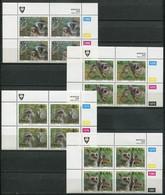 Venda Mi# 270-3 Zylinderblöcke Postfrisch/MNH Controls - Fauna Monkeys - Venda